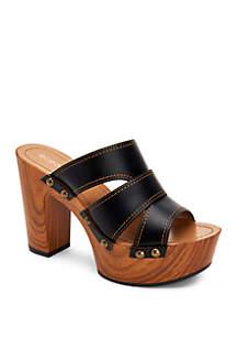 BCBGeneration Zadie Wedge Mule Sandals