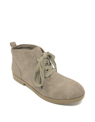 Mens Suede Leather Lace-Up Casual Comfy Ankle Desert Boots Navy Blue Ikon A.K