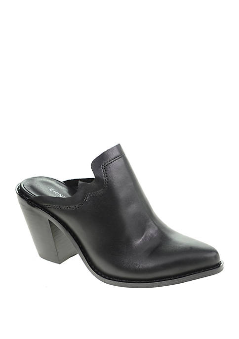 Chinese Laundry Songstress Western Mule
