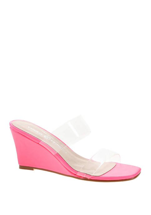 Chinese Laundry Tann Wedge Sandals