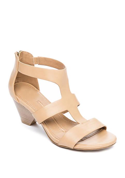 8ceaa6677af New Directions® Devinda Heeled Sandals