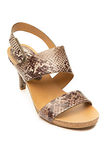 New Directions® Open Toe Sandal