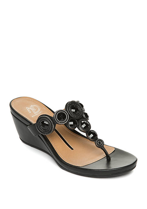 New Directions® Freska Wedge Sandals