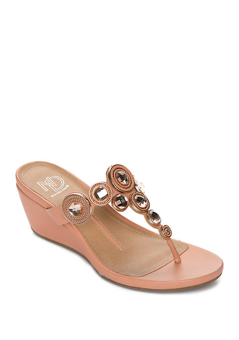 New Directions® Freska Wedge Sandals