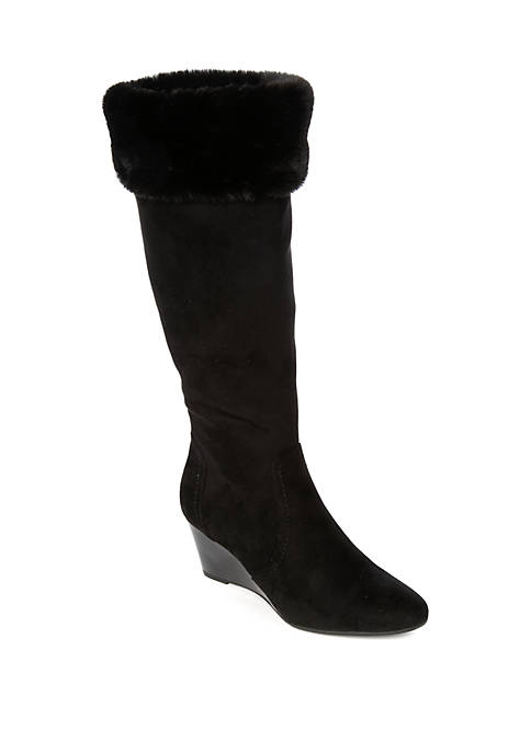 New Directions® Yoana Wedge Boots