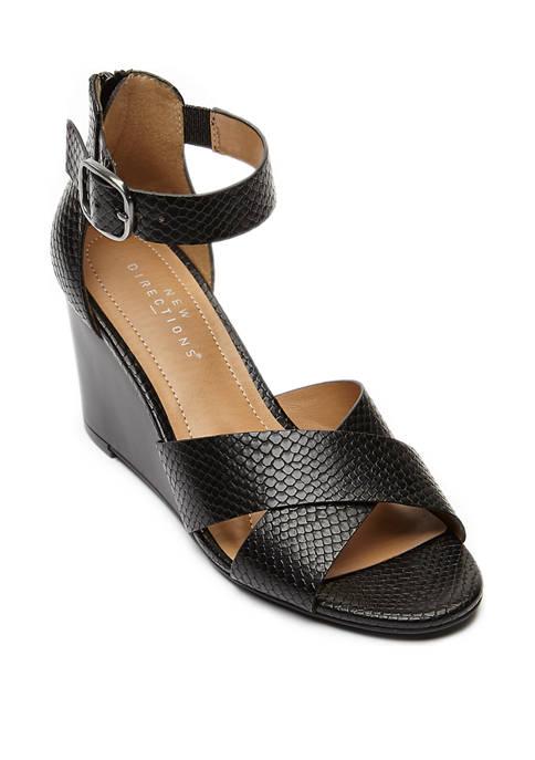 New Directions® Bryann Wedge Heel Sandals