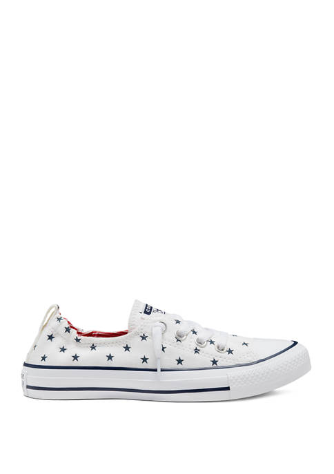 Womens Chuck Taylor All Star Shoreline Stars Sneakers