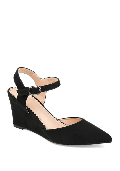 Journee Collection Anndria Wedge Sandals