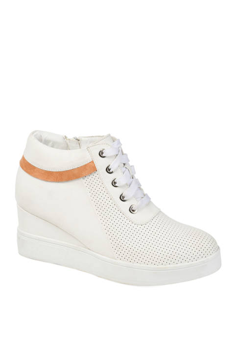 Journee Collection Ayse Wedge Sneakers