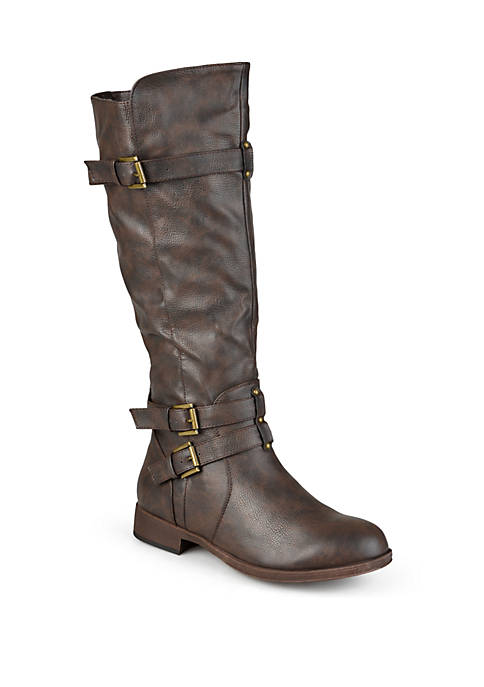 Journee Collection Wide Calf Bite Boot