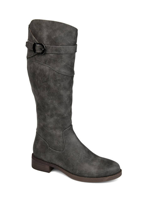Journee Collection Wide Calf Brooklyn Boots
