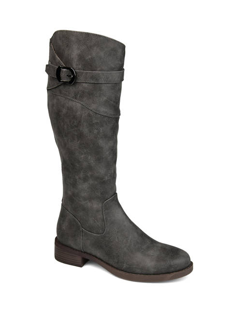 Journee Collection Extra Wide Calf Brooklyn Boots