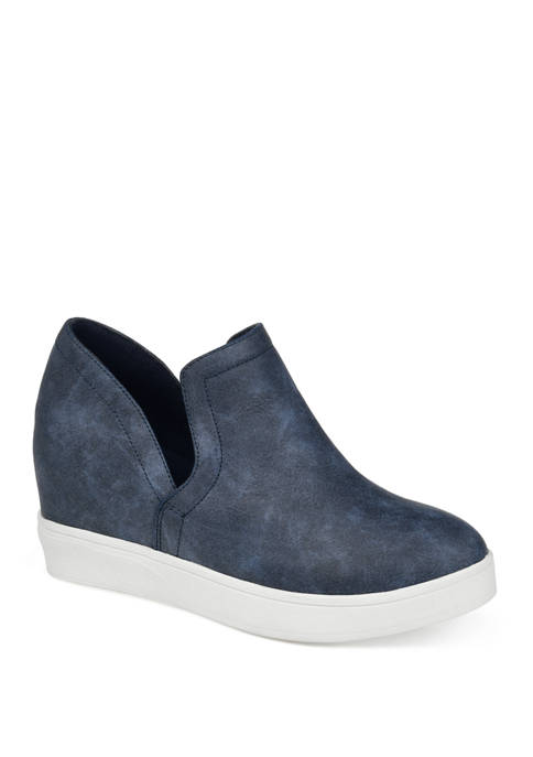 Journee Collection Cardi Wedge Sneakers