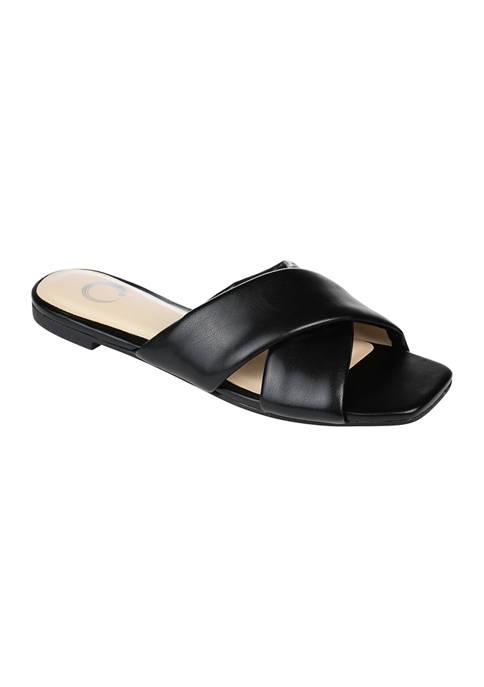 Journee Collection Carlotta Slide Sandals