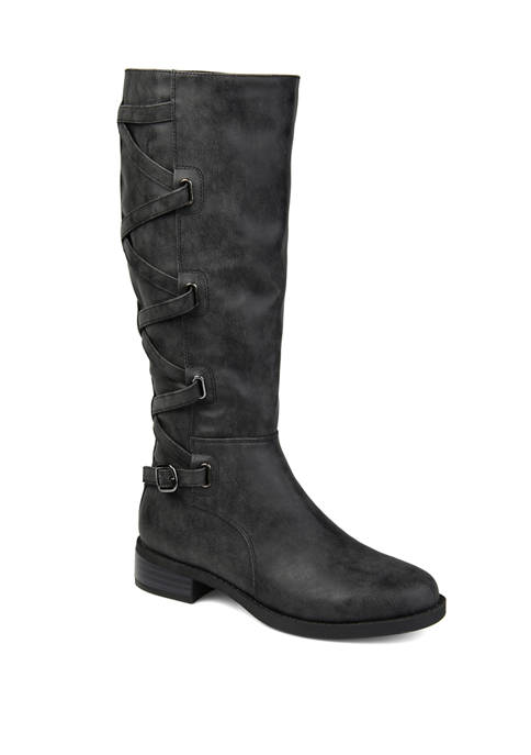 Journee Collection Wide Calf Carly Boots