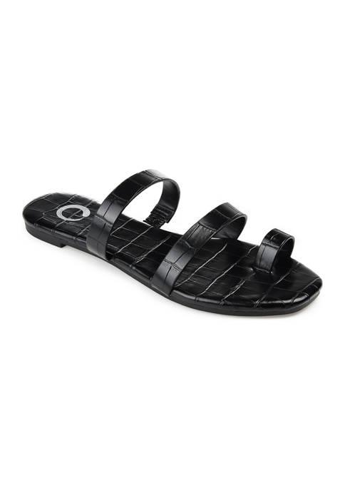 Journee Collection Daiya Slide Sandals