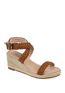 Journee Collection Comfort Evolet Wedge Sandals