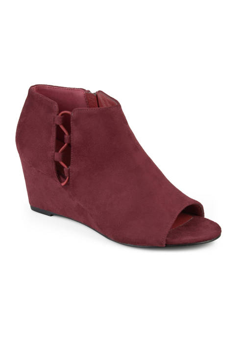 Journee Collection Falon Wedge Booties