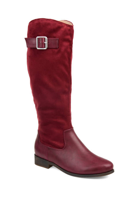 Journee Collection Frenchy Wide Calf Boots