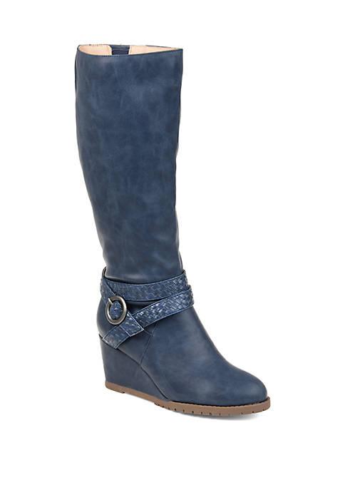 Journee Collection Comfort Wide Calf Garin Boot
