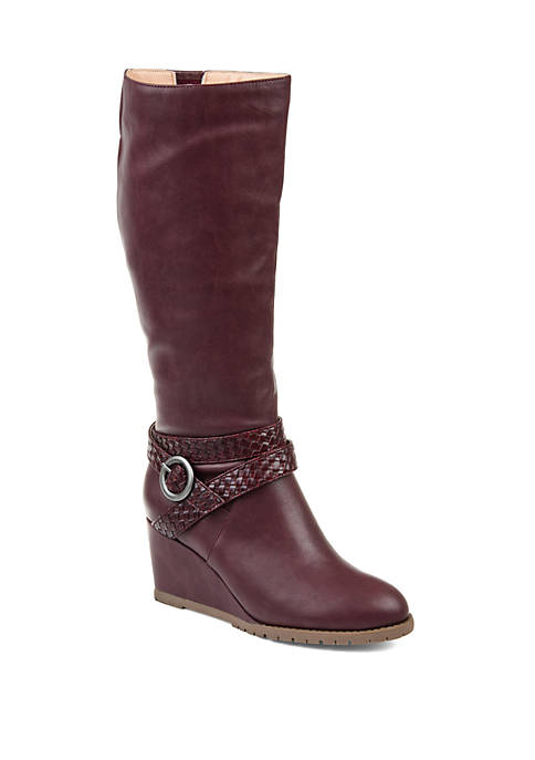 Journee Collection Comfort Extra Wide Calf Garin Boots