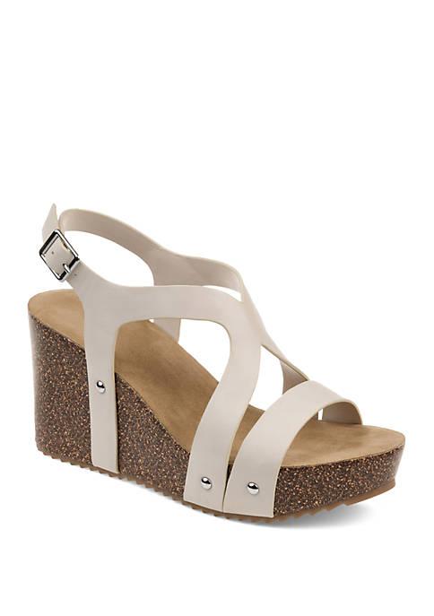 Journee Collection Geneva Wedge Sandals