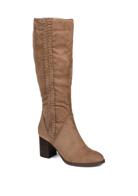 Journee Collection Extra Wide Calf Gentri Boots
