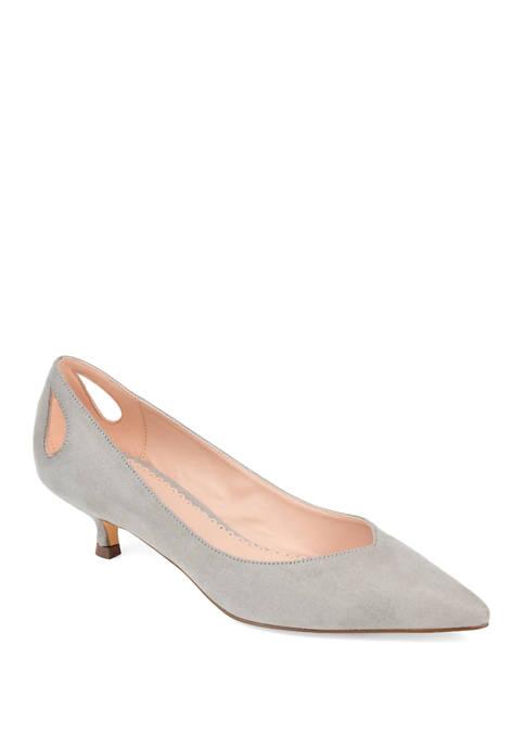 Journee Collection Goldie Kitten Heel Sandals