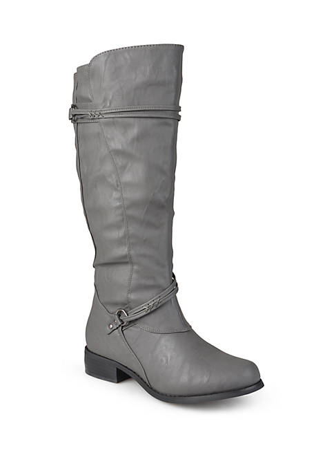 Journee Collection Extra Wide Calf Harley Boot