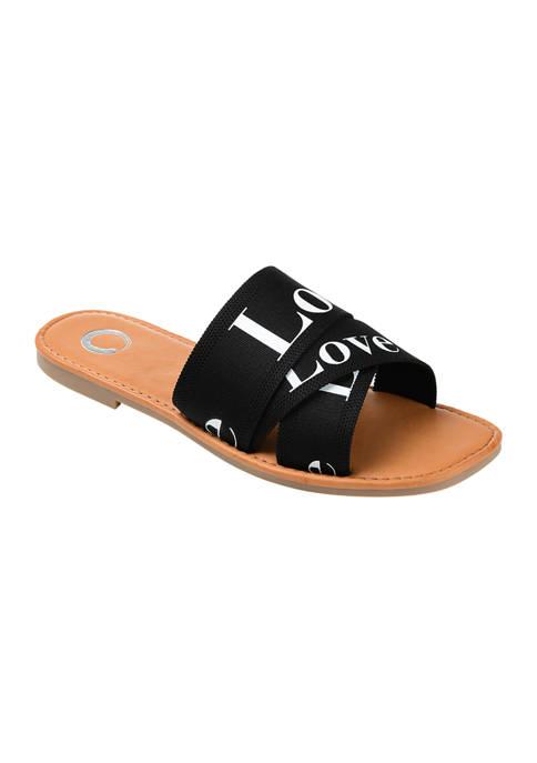 Journee Collection Comfort Foam™ Ivante Slide Sandals