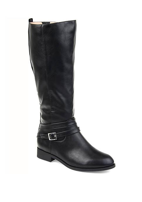 Journee Collection Comfort Wide Calf Ivie Boot