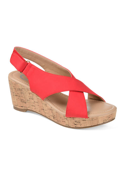 Journee Collection Jenice Wedge Sandals