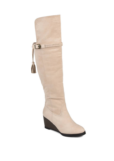 Journee Collection Wide Calf Jezebel Boots
