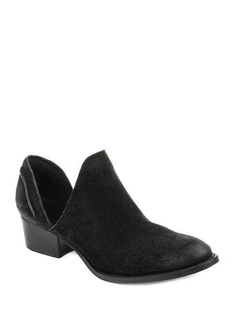 Journee Collection Genuine Leather Jonesy Booties