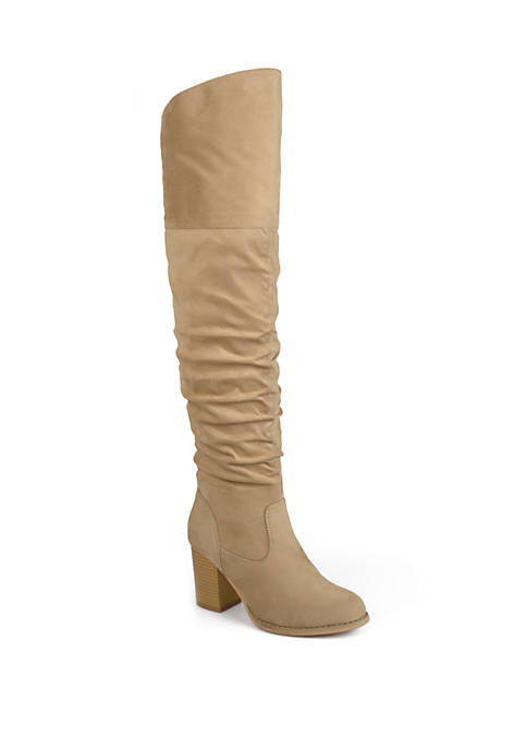 Journee Collection Wide Calf Kaison Boots
