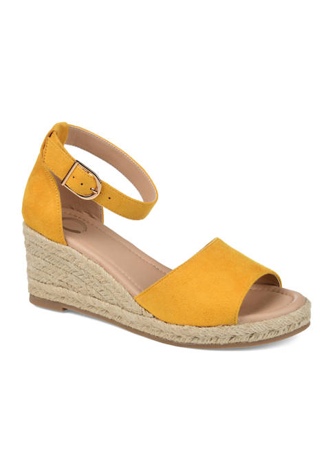 Journee Collection Keana Wedge Sandals