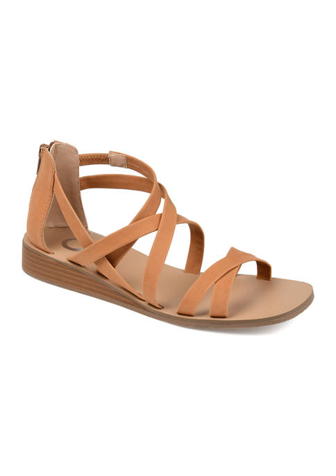Journee Collection Lanza Sandals