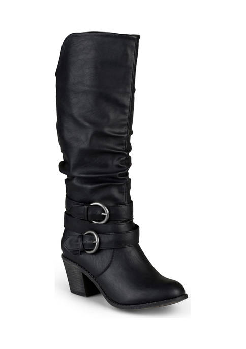Journee Collection Wide Calf Late Boots