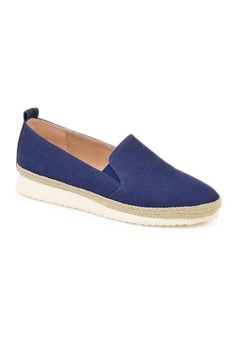 Journee Collection Comfort Leela Espadrille Flats