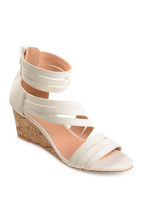Journee Collection Loki Wedge Sandals