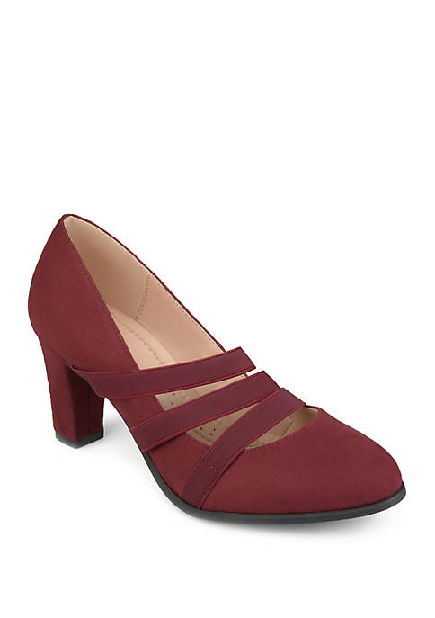 Journee Collection Comfort Loren Heel Pumps