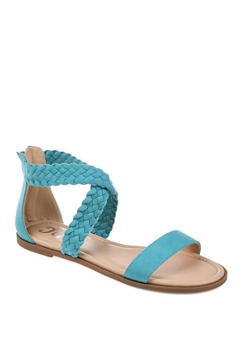 Journee Collection Comfort Lucinda Sandals