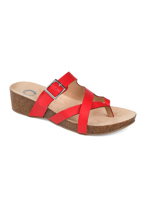 Journee Collection Madrid Wedge Sandals