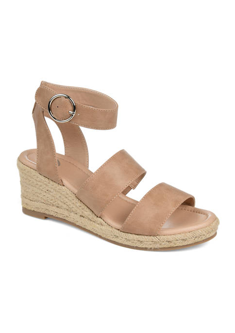 Journee Collection Norra Wedge Sandals