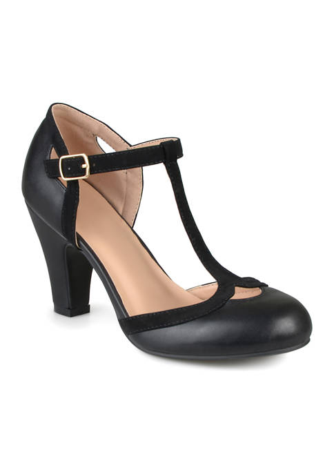 Journee Collection Wide Width Olina Pumps