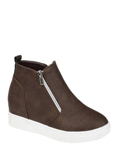 Journee Collection Phoebe Wedge Sneakers
