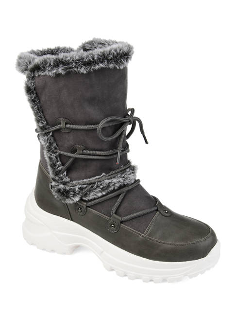 Journee Collection Polar Fashion Winter Boots