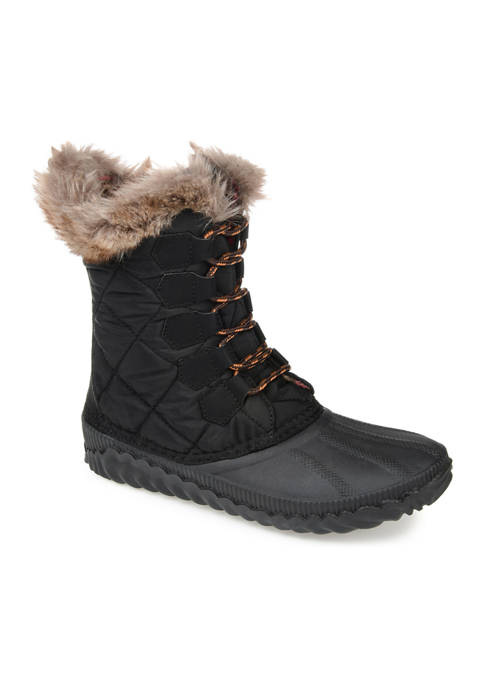 Journee Collection Powder Winter Boots