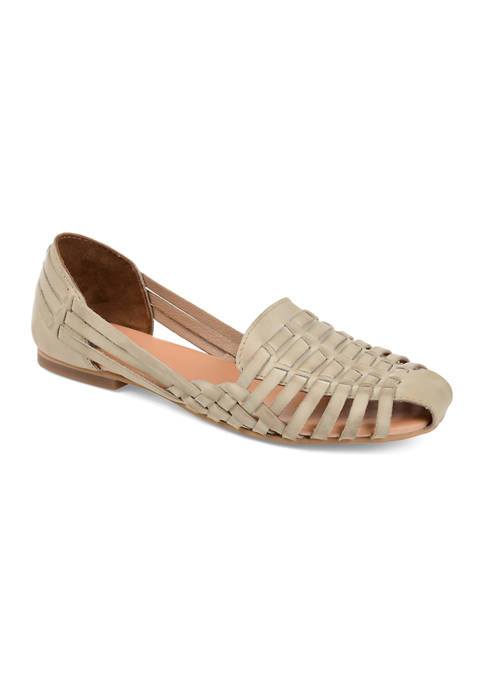 Journee Collection Genuine Leather Rilee Flats