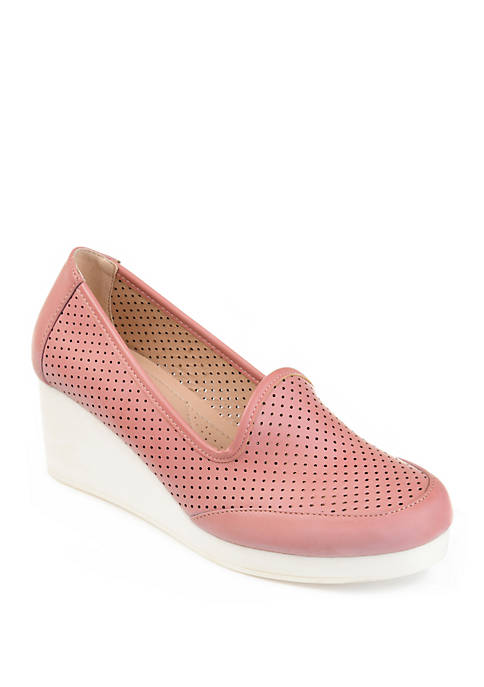 Journee Collection Comfort Safire Wedge Shoes